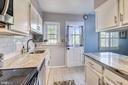 Kitchen door leads to outdoor deck - 3270 S UTAH ST, ARLINGTON