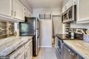 White cabinets, granite countertops & SS appliance - 3270 S UTAH ST, ARLINGTON