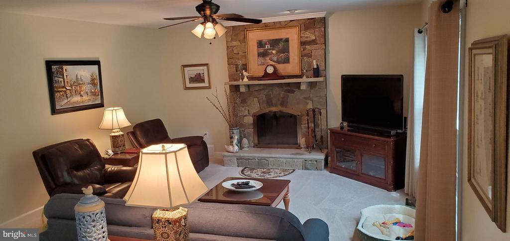 FAMILY ROOM OFF KITCHEN - 20782 LUCINDA CT, ASHBURN