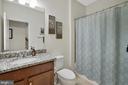Full Bath on first level - 42266 KNOTTY OAK TER, BRAMBLETON