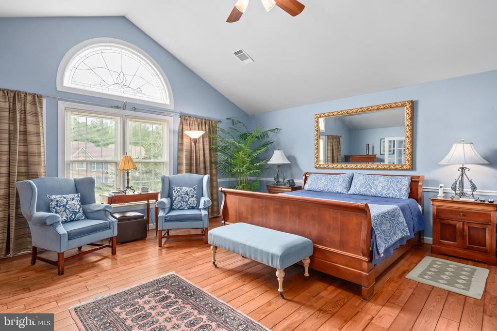 Master Bedroom with Vaulted Ceiling - 20441 WINFIELD PL, STERLING