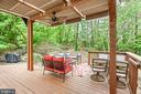 Rear Deck Pergola - 20441 WINFIELD PL, STERLING