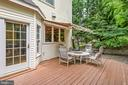 Rear Deck Awning - 20441 WINFIELD PL, STERLING