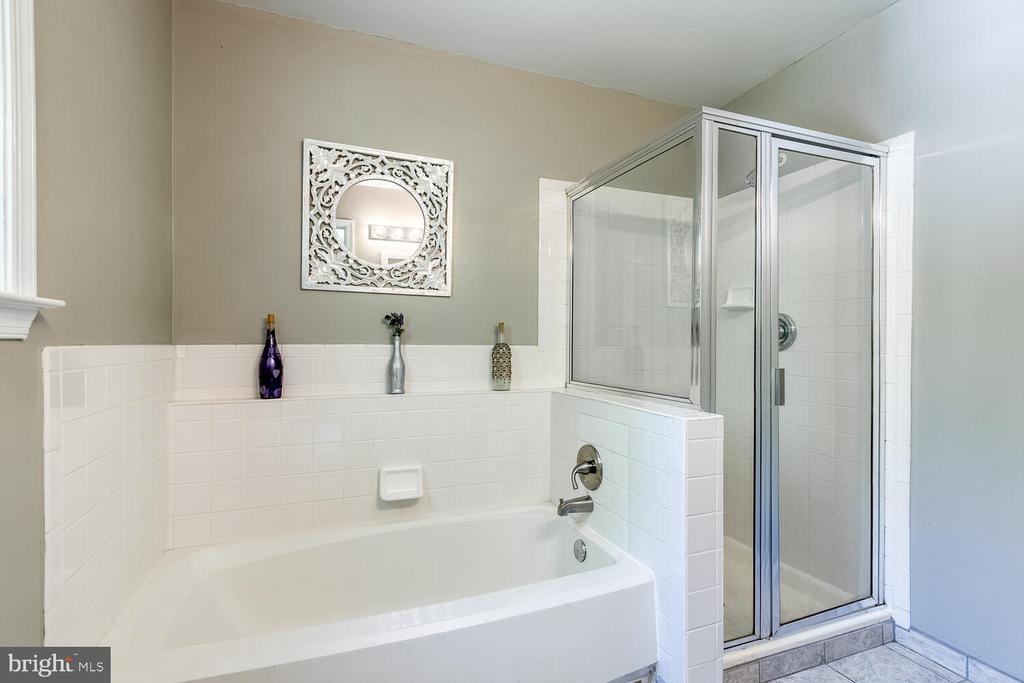 Luxury master bath - 7 PLUMOSA DR, FREDERICKSBURG