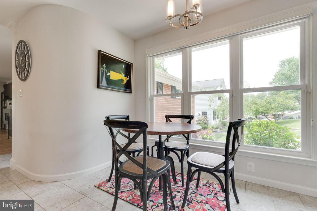 Kitchen Table Area - 5068 COLERIDGE DR, FAIRFAX