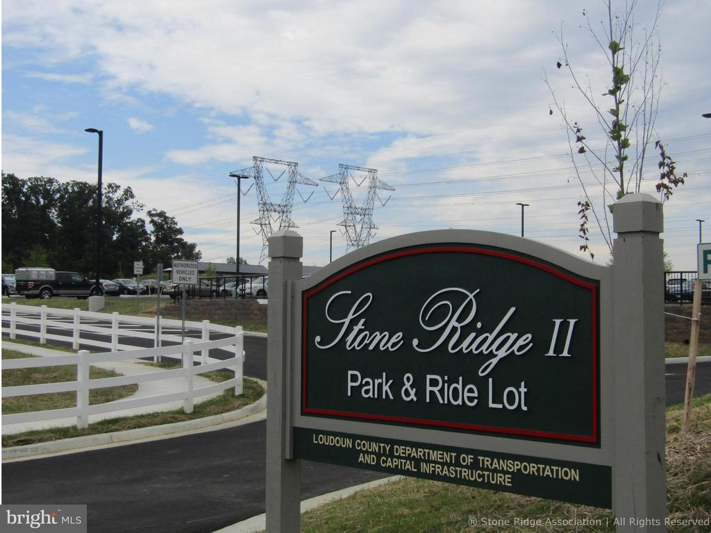 Great commuter location with Park & Ride Lots. - 41959 ZIRCON DR, ALDIE