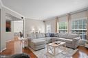 ...huge windows, surround sound, and deck access. - 41959 ZIRCON DR, ALDIE