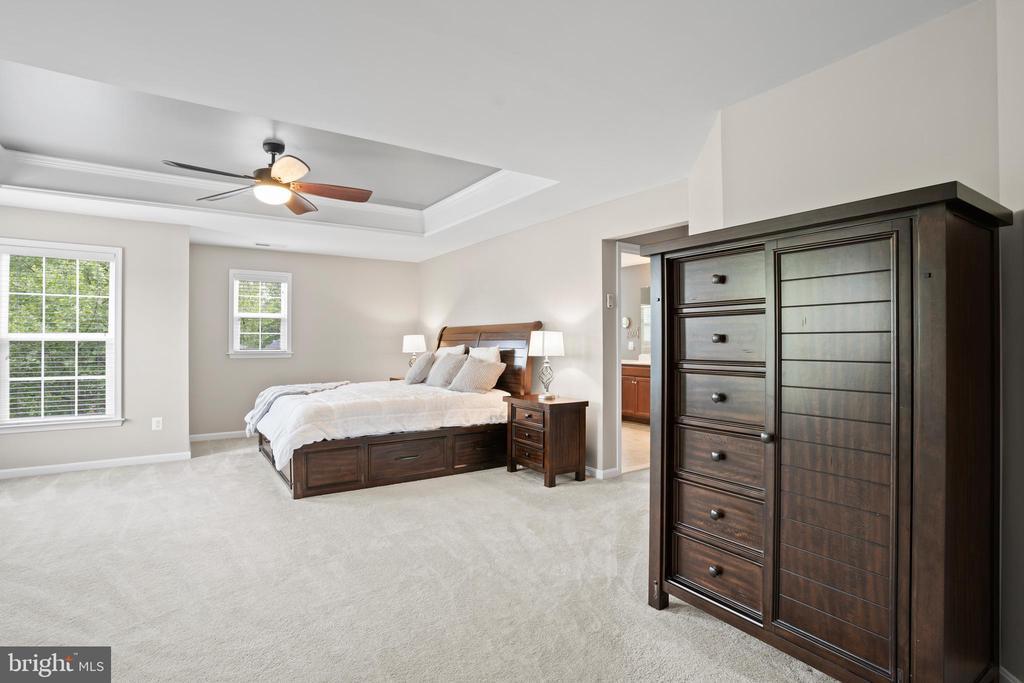 The primary bedroom is the perfect retreat! - 41959 ZIRCON DR, ALDIE