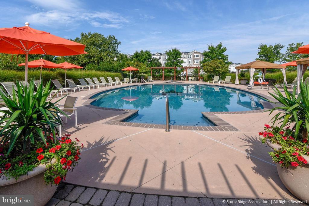 Stone Ridge residents have access to 3 pools! - 41959 ZIRCON DR, ALDIE