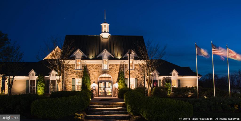 The beautiful Nettle Mill Clubhouse... - 41959 ZIRCON DR, ALDIE
