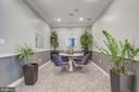 Recently remodeled lobby - 2726 GALLOWS RD #201, VIENNA