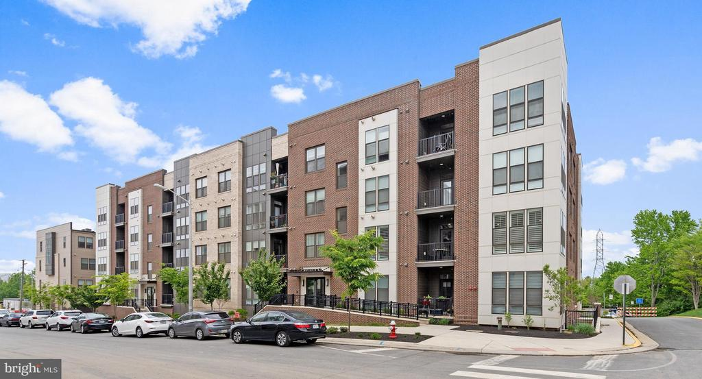 View of building from across the street - 11200 RESTON STATION BLVD #301, RESTON