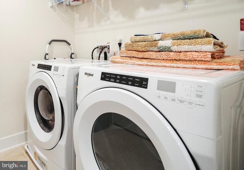 Spacious laundry room - 11200 RESTON STATION BLVD #301, RESTON