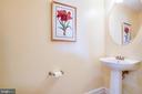 1/2 bath - 701-302 COBBLESTONE BLVD #302, FREDERICKSBURG