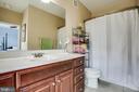 Full bath in BR 2 - 701-302 COBBLESTONE BLVD #302, FREDERICKSBURG