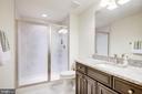 Basement Bath - 41062 LYNDALE WOODS DR, ALDIE