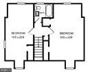 Upper level plan - 4437 WELLS PKWY, UNIVERSITY PARK