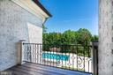 Private Owners Suite Balcony - 8334 ALVORD ST, MCLEAN