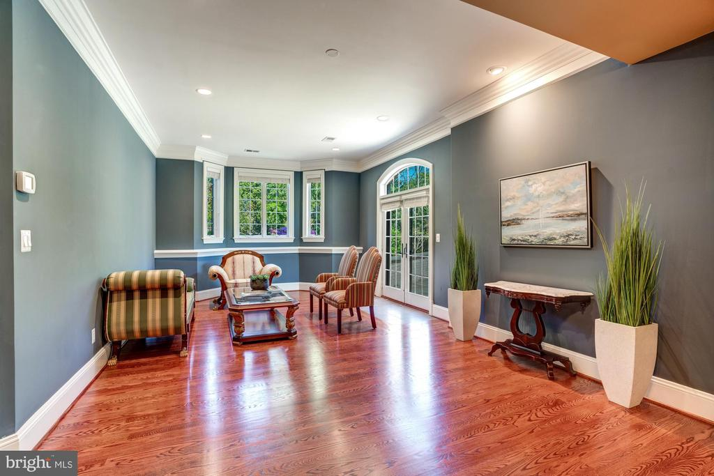 Additional Lower Level Entertaining with Walkout - 8334 ALVORD ST, MCLEAN