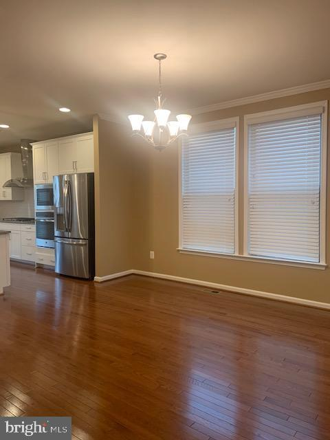Dining room - hardwoods - 42426 DOGWOOD GLEN SQ, STERLING