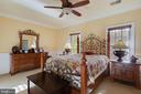 Ceiling fans in all bedrooms - 147 STEFANIGA FARMS DR, STAFFORD
