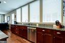 Bright kitchen with stainless steel appliances - 42238 PALLADIAN BLUE TER, BRAMBLETON