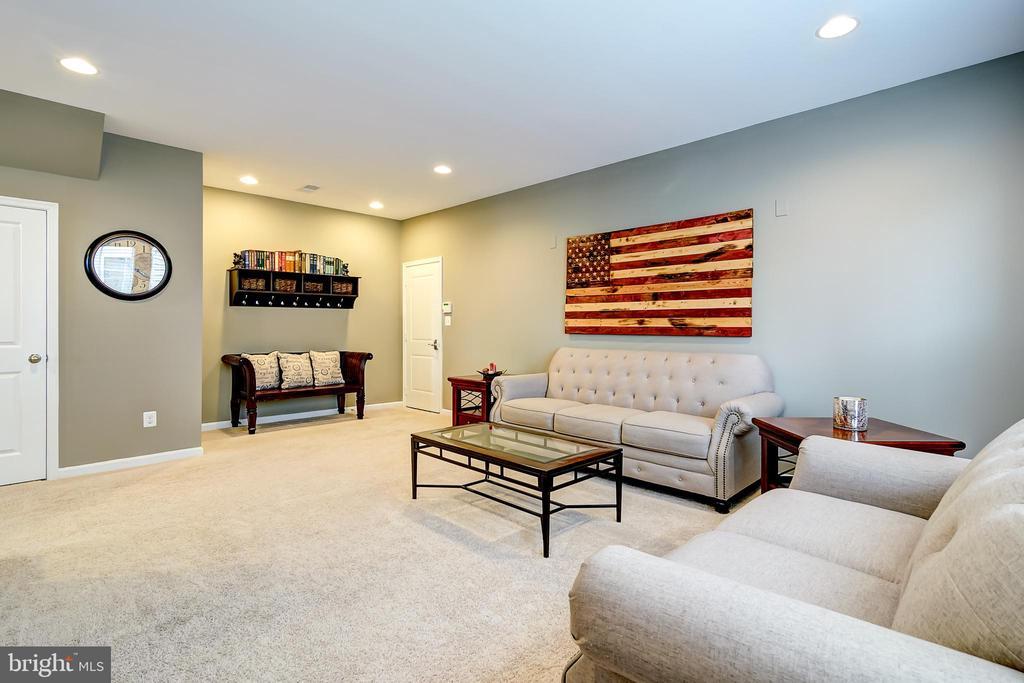 Lower level entrance to garage - 42238 PALLADIAN BLUE TER, BRAMBLETON