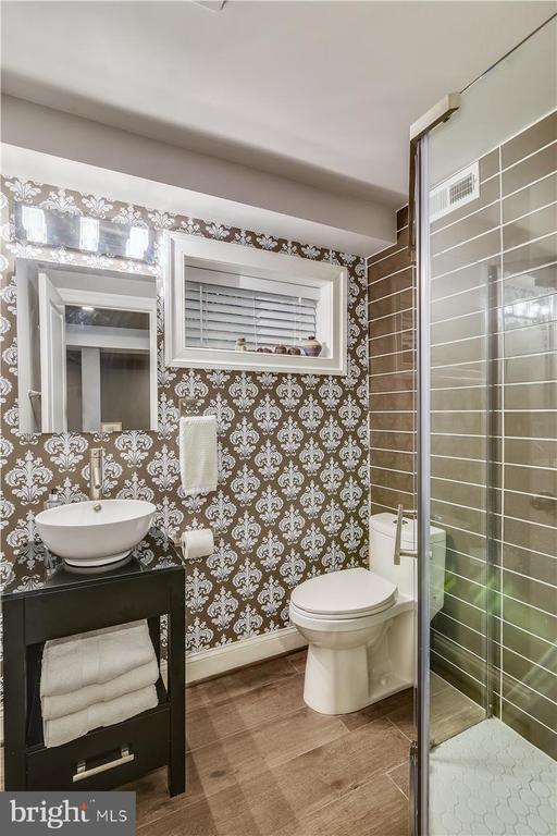 Lower level bathroom - 119 WOODBERRY RD NE, LEESBURG