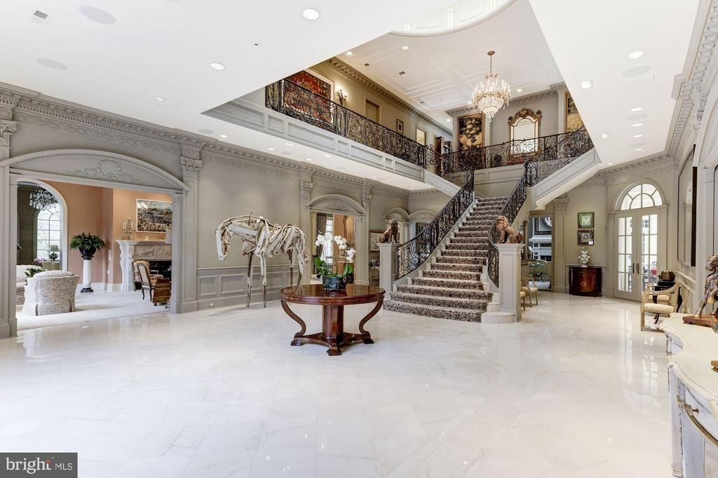 Grand Stairway with Dual Stairs to Each Side - 2221 30TH ST NW, WASHINGTON