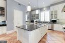 Kitchen with Plentiful Windows - 2221 30TH ST NW, WASHINGTON
