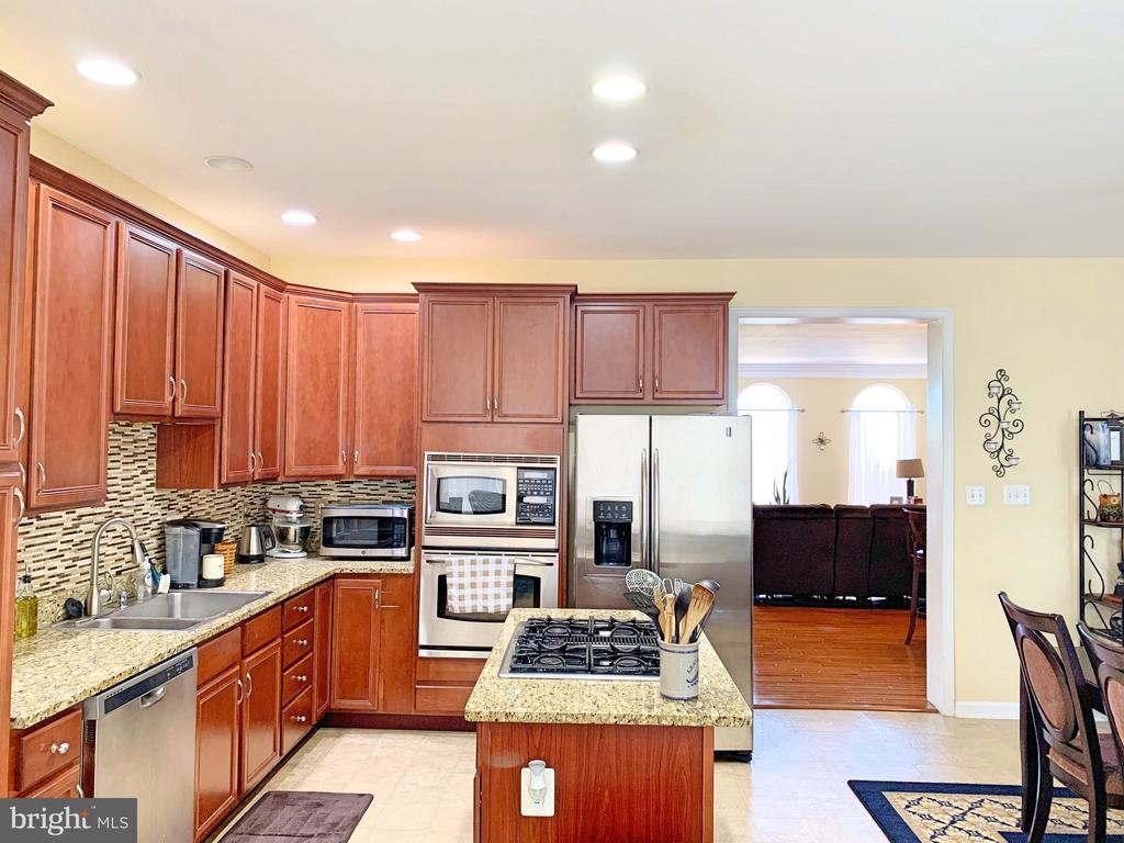 Gourmet Kitchen - 25216 WHIPPOORWILL TER, CHANTILLY