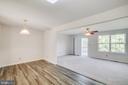 Family Room off Kitchen - 11317 WYTHEVILLE LN, FREDERICKSBURG
