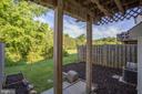 Backyard - 11317 WYTHEVILLE LN, FREDERICKSBURG