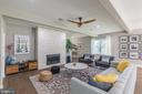 Fabulous Great Room area - 9064 ANDROMEDA DR, BURKE