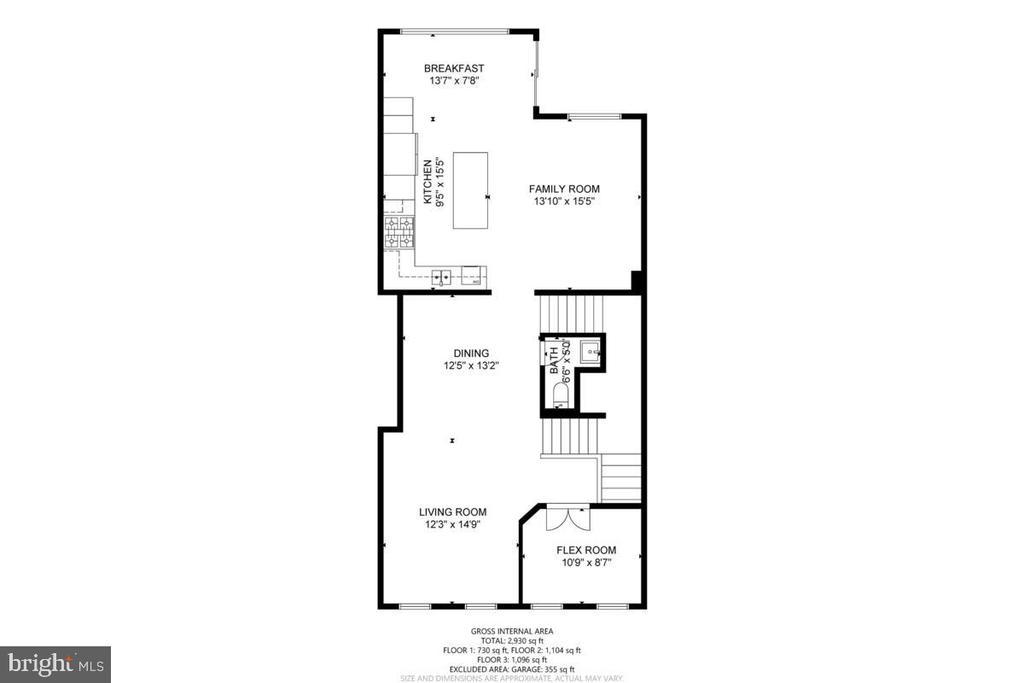 Floor 2 - 23636 SAILFISH SQ, BRAMBLETON