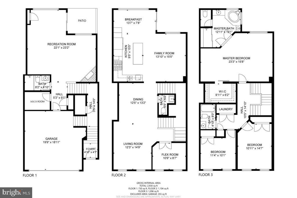 Floor Plan - 23636 SAILFISH SQ, BRAMBLETON