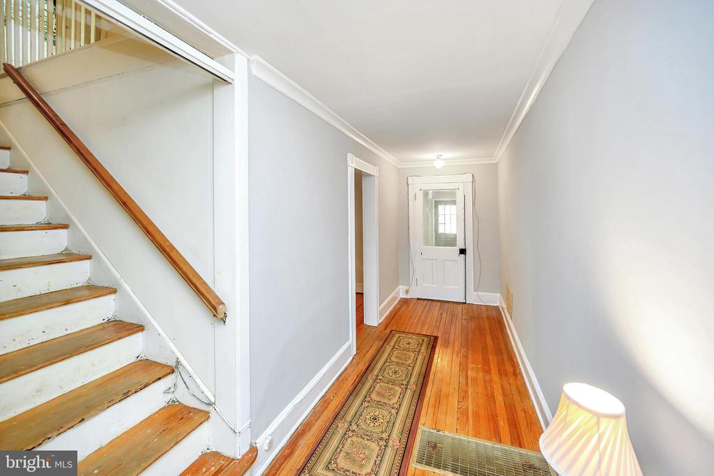 Entrance Hall and Stairway - 1215 WINCHESTER ST, FREDERICKSBURG