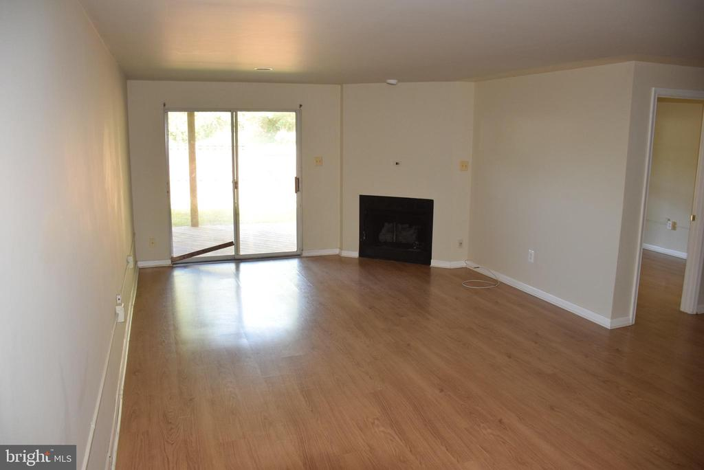 Fully Finished Basement with Fireplace - 44188 MOSSY BROOK SQ, ASHBURN