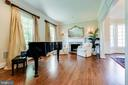 Formal living/sitting room  opening to dining room - 1904 MALLINSON WAY, ALEXANDRIA