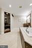 Primary bathroom w/ oversized shower - 1904 MALLINSON WAY, ALEXANDRIA