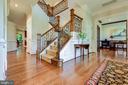 Staircase to upper level - 1904 MALLINSON WAY, ALEXANDRIA