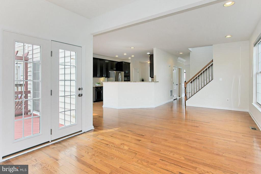 French Door to the Large Deck - 42329 CAPITAL TER, CHANTILLY