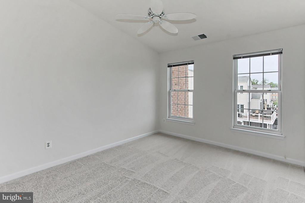 Third Bedroom includes New Carpet & a Ceiling Fan - 42329 CAPITAL TER, CHANTILLY