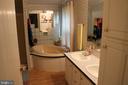Primary Bath with Soaking Tub - 13708 GABRIEL CT, SPOTSYLVANIA