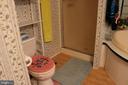Primary Bath with Shower - 13708 GABRIEL CT, SPOTSYLVANIA