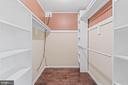 Primary Bedroom 2nd walk-in closet - 2514 LITTLE RIVER RD, HAYMARKET