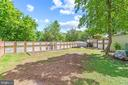 Fenced garden area - 2514 LITTLE RIVER RD, HAYMARKET