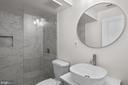Lower level upgraded bath - 23636 SAILFISH SQ, BRAMBLETON
