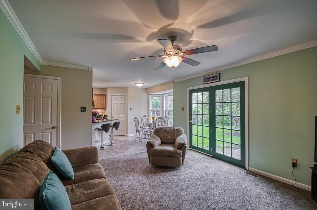 View of Family Room-Eat In Kitchen - 103 CROSSING POINTE CT, FREDERICK