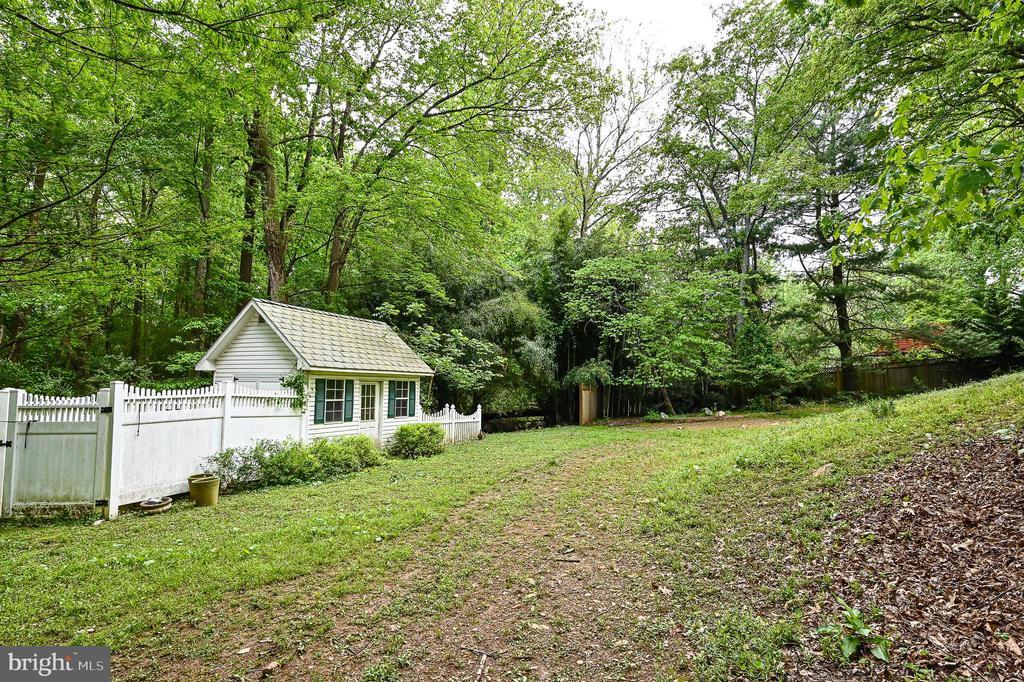 Gardening shed - 11619 VALLEY RD, FAIRFAX